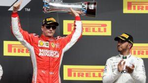 Räikkönen siegt im Austin-Krimi: Ferrari verdirbt Hamilton vorzeitige WM-Party