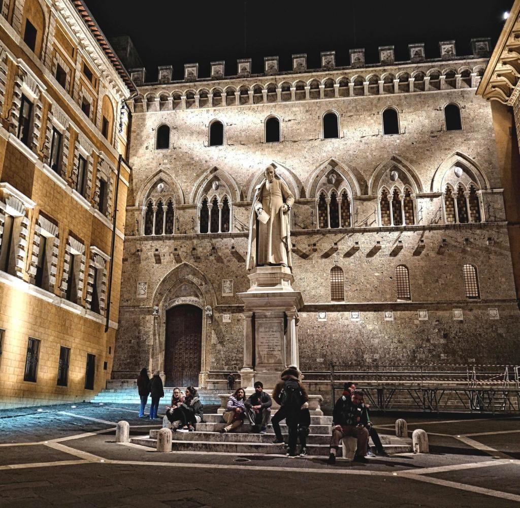 Italiener und Araber haben das Bankwesen erfunden