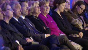 An diesem Abend braucht Merkel keinen Trost von ihren Anhängern