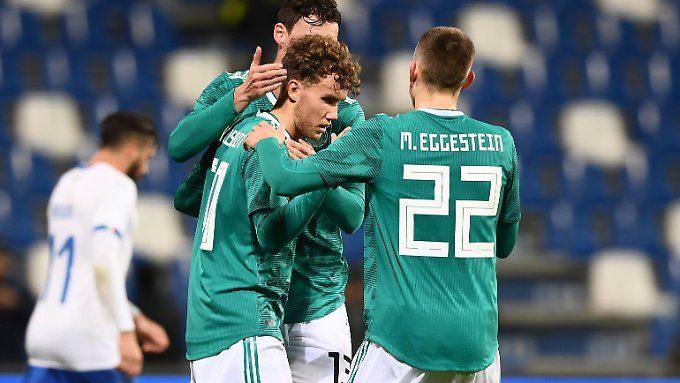 Keine Spur von DFB-Krise: Deutsche U21 stürmt in Topform zur EM