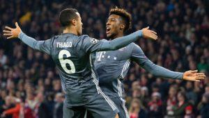 Wilder Fight mit Müller-Rot: FC Bayern rettet Gruppensieg in Ajax-Drama