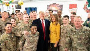 Auf Video vom Irakbesuch: Hat Trump die Basis einer US-Eliteeinheit verraten?
