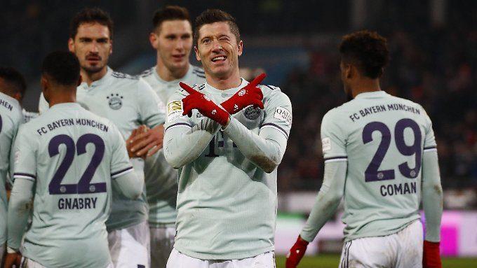 So läuft der 16. Spieltag (II): Bayern-Zufuhr ängstigt RB, S04 kickt gegen Neandertaler