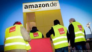 Verdi ruft zu Streik bei Amazon auf