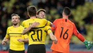 Guerreiro knackt Monaco doppelt: BVB holt mit B-Elf noch den CL-Gruppensieg