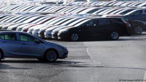 Absatzeinbruch in britischer Autobranche