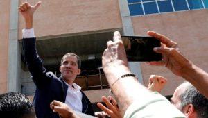 Oppositionsführer Juan Guaidó kehrt nach Venezuela zurück