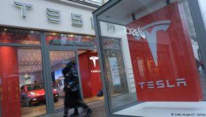 Tesla stellt Verkauf im Laden ein
