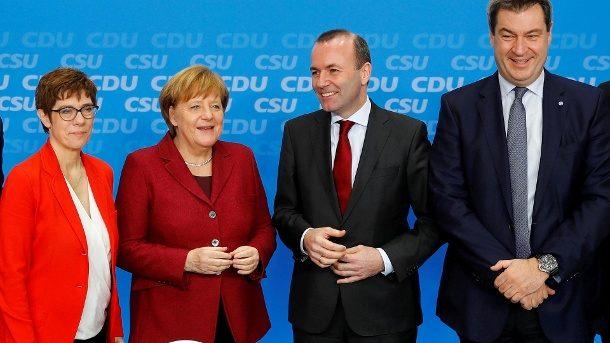 Europawahl im Mai: Union will mit konservativem EU-Wahlprogramm punkten