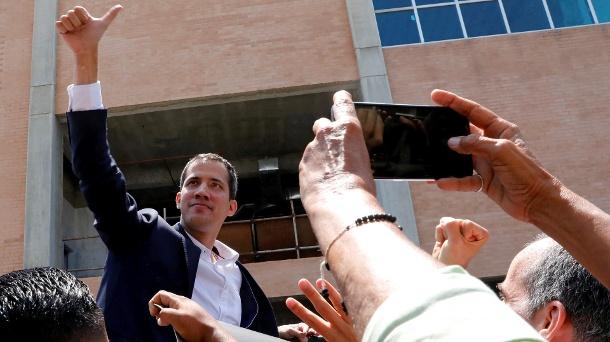 Oppositionsführer Guaidó kehrt nach Venezuela zurück – Festnahme droht