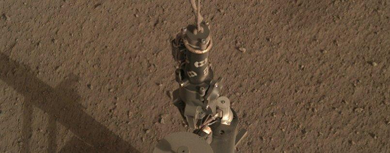 Der Marsmaulwurf gräbt los