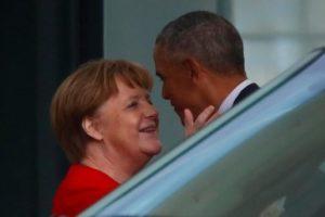 Barack Obama trifft Kanzlerin Merkel in Berlin: Wenn die Sehnsucht brennt