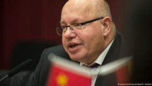 Altmaier auf schwieriger Mission in China