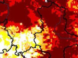 Deutschland ist bei der Trockenheit zweigeteilt