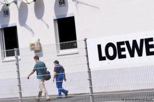 Insolventer Fernsehhersteller Loewe stellt Betrieb ein